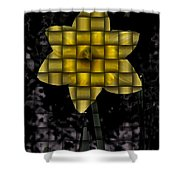 Daffodil Weave Shower Curtain