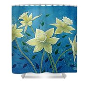 Daffodil Welcome Shower Curtain