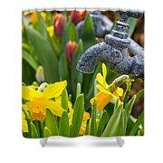 Daffodils 1 Shower Curtain