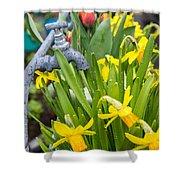 Daffodils 2 Shower Curtain