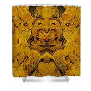 Daffy Daffodils Shower Curtain
