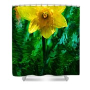 Daffy Dill Shower Curtain