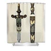Dagger And Sheath Shower Curtain