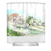 Dagomys Shower Curtain
