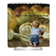Daily Bread. Shower Curtain