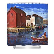 Daily Harvest Shower Curtain