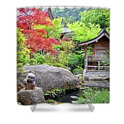 Daisho In Temple Shower Curtain