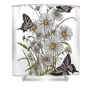 Daisy At Your Feet Shower Curtain