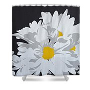 Daisy, Daisy How Does Your Garden Grow...... Shower Curtain