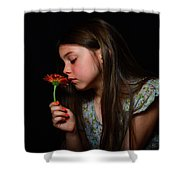 Daisy Girl Shower Curtain