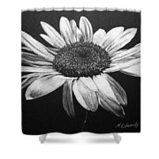 Daisy I Shower Curtain