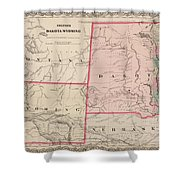 Dakota And Wyoming Shower Curtain