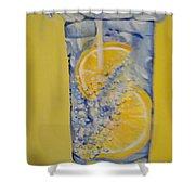 Dakota Flint Prayer Shower Curtain by Saundra Johnson