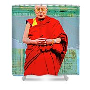 Dalai Lama Shower Curtain