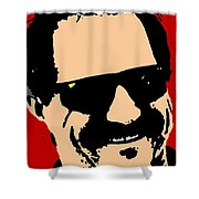Dale Earnhardt Shower Curtain