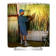 Dale Painting Shower Curtain