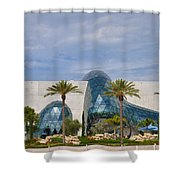 Dali Museum Shower Curtain by Bill Cannon