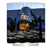 Dali Night Shower Curtain