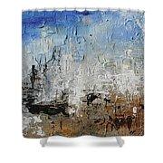 Dali's Barcelona Shower Curtain