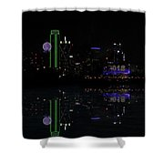 Dallas 2018 And 4 Minutes Shower Curtain