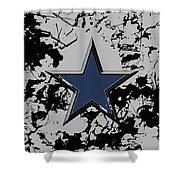Dallas Cowboys 1b Shower Curtain