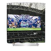 Dallas Cowboys Take The Field Shower Curtain
