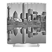 Dallas Monochrome Shower Curtain
