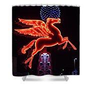 Dallas Pegasus V1 121417 Shower Curtain
