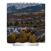 Dallas Peak II Shower Curtain by Gary Lengyel