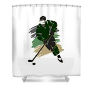 Dallas Stars Player Shirt Shower Curtain