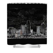 Dallas Shower Curtain