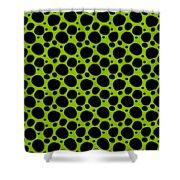 Dalmatian  Black Pattern 09-p0173 Shower Curtain