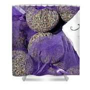 Dalmatian Lavender Shower Curtain