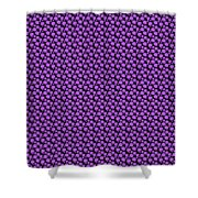 Dalmatian Pattern With A Black Background 30-p0173 Shower Curtain