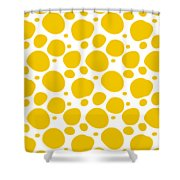 Dalmatian Pattern With A White Background 05-p0173 Shower Curtain