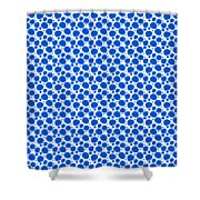 Dalmatian Pattern With A White Background 18-p0173 Shower Curtain