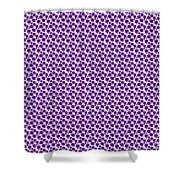 Dalmatian Pattern With A White Background 30-p0173 Shower Curtain