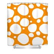 Dalmatian  White Pattern 03-p0173 Shower Curtain