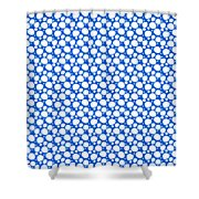 Dalmatian  White Pattern 18-p0173 Shower Curtain