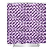 Dalmatian  White Pattern 30-p0173 Shower Curtain