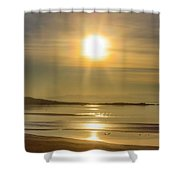 Salton Sunset Shower Curtain