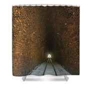 Dalveen Railway Tunnel 1880 Shower Curtain