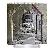 Dam Above Garwin Falls, Wilton, Nh Shower Curtain