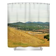 Dam004 Shower Curtain
