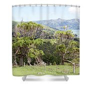 Damaged Nature Shower Curtain