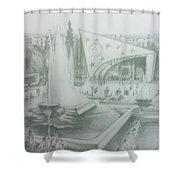 Damascus Shower Curtain