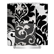 Damask Defined II Shower Curtain