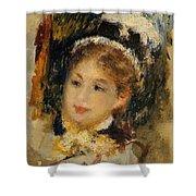 Dame En Toilette De Ville 1875 Shower Curtain
