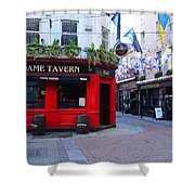 Dame Tavern Shower Curtain