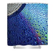 Damp Disk Shower Curtain